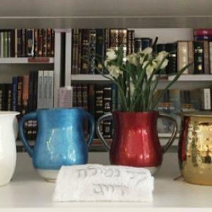 נטלה לידיים בתל אביב