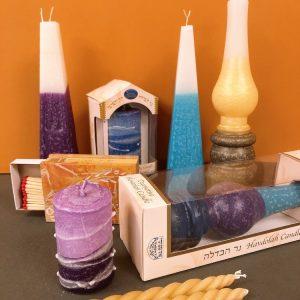safed havdala candles